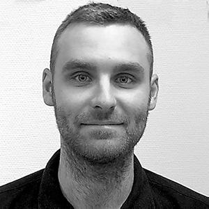Filip Persson, mätningstekniker hos Mätpartner
