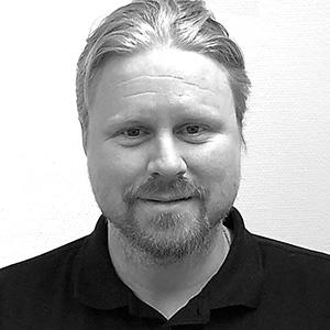 Robert Nyberg, mätningsingenjör hos Mätpartner