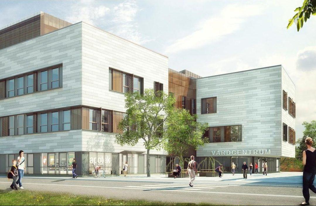 Visionsbild över Finspångs Vårdcentrum